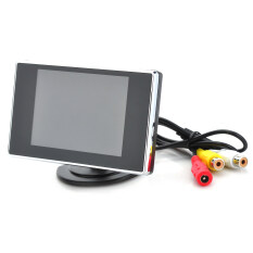 3.5 Tft Lcd Monitor For Visual Reversing/vehicles Reverse Camera (ntsc/pal Dc8-15v) By Extreme Deals.