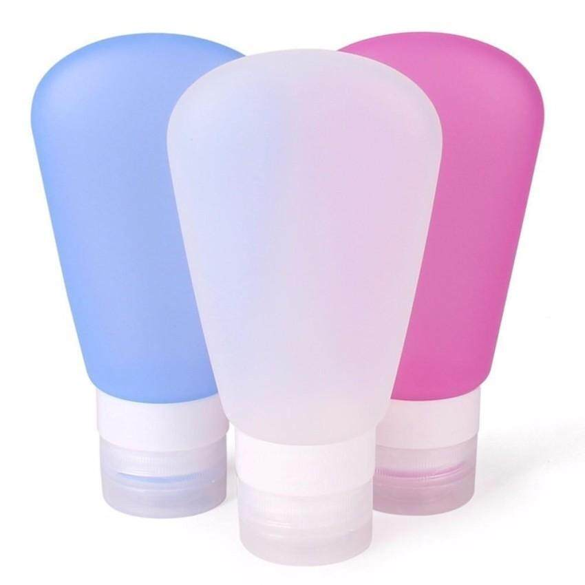 Sale 3 Pack Portable Soft Silicone Travel Bottles Set 89Ml Intl On China