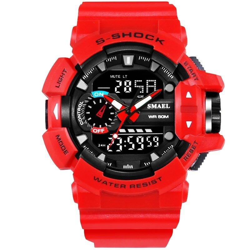 30M Waterproof Mens Sports Watch Jam Tangan  S Shock Military Watch Jam Tangan  Digital LED Electronic WristWatch Jam Tangan  Male Clock WS 1436 Malaysia