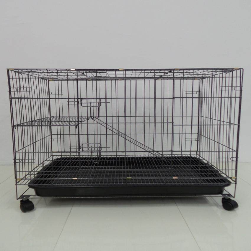355 1 Level Cat Cage Wrought Iron 30l X 21w X 27h By P Store.