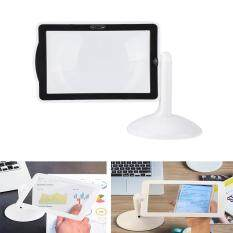7a762c4318 360° Rotatable Hands-free 3X LED Screen Reading Magnifier Magnifying Glass