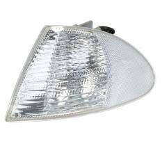 380938221669 1999-2001 For Bmw E46 4 Door Sedan Chrome Clear Corner Lights Lh Rh Signal Lamps By Freebang.