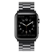 38mm Stainless Steel Band Strap for Apple Watch Series 1 Series 2 Series 3 - Black Malaysia