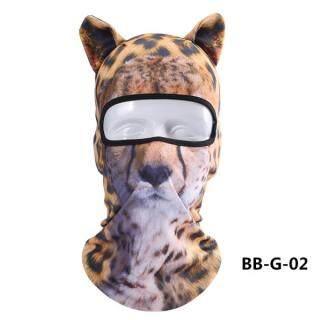 Mũ Trùm Đầu Động Vật 3D Thiết Bị Ngoài Trời Mặt Nạ Trùm Đầu Thể Thao Chống Nắng Mặt Nạ Lái Xe Mô Tô Chống Bụi Gió (BB-G-02) thumbnail