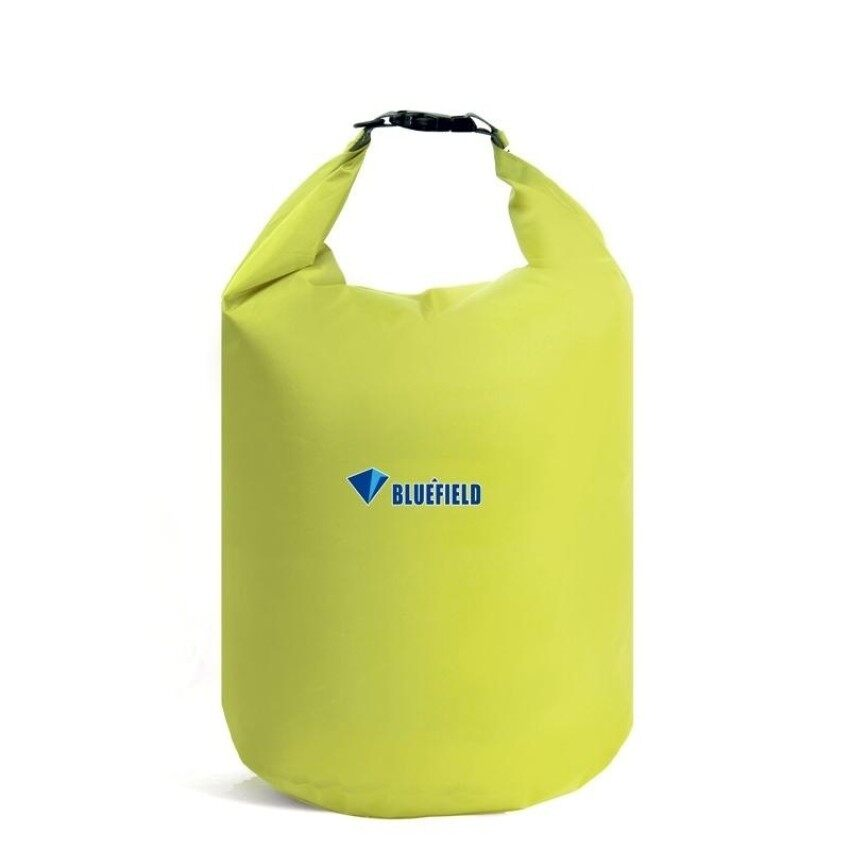 4c70770558 40L Outdoor Polyester Cloth Trekking River Drifting Waterproof  Bagultralight Swimming Bag (Pea Green)