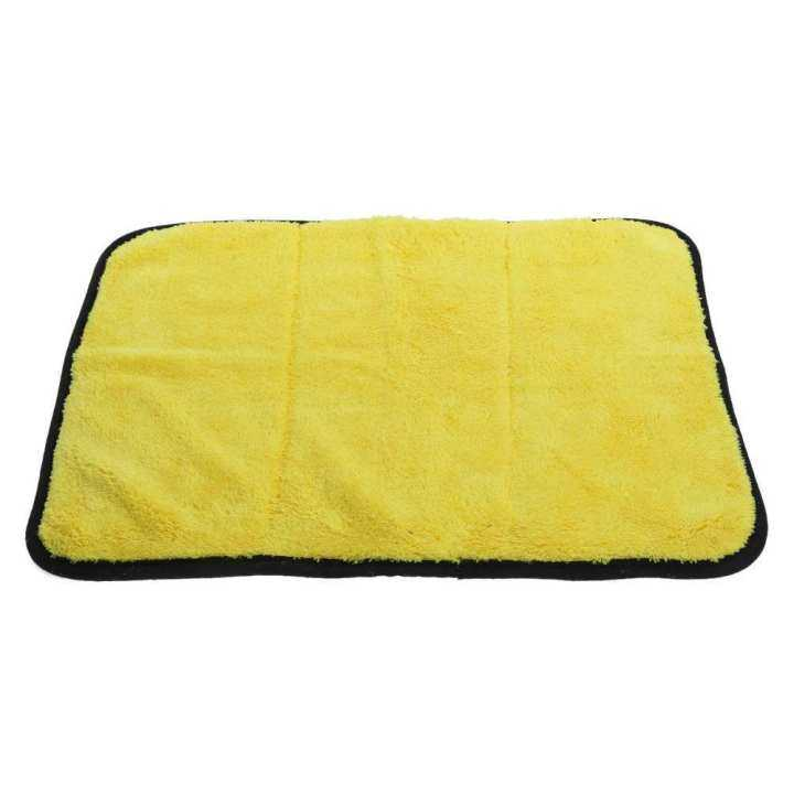 45*38CM Super Absorbent Double-Sided Car Cleaning Towel Soft No Scratch