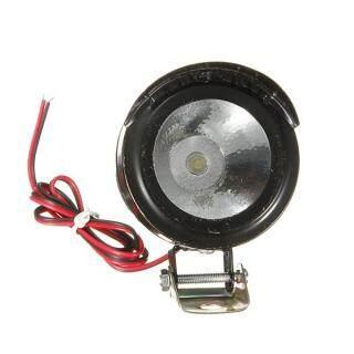 4XUniversal Đèn Pha LED Chiếu Sáng Xe Máy Xe Đạp Điện, 12V-80V 3W Đen 6Cm thumbnail