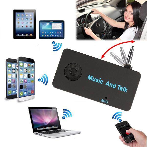 5 Cái Bộ Chuyển Đổi Thu Âm Thanh Stereo Âm Thanh Xe Hơi Tại Nhà Bluetooth 3.5Mm, Bộ Rảnh Tay