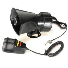 50 W 12 V Mobil Pelantang Suara Truk Sirene Keras Horn Ambulans Polisi Alarm 105db dengan