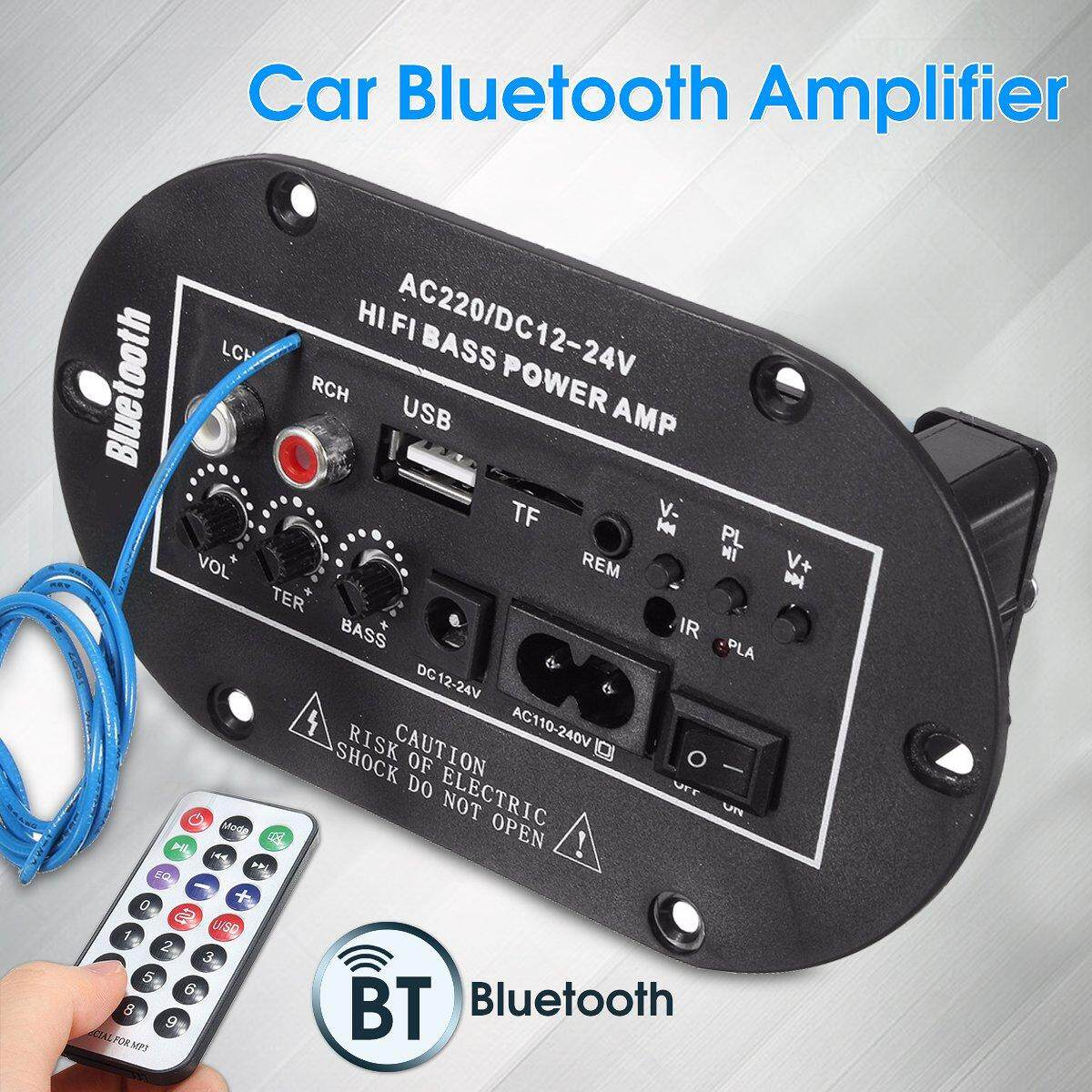 Car Amplifier For Sale Audio Online Brands Prices Speakers Wired In Parallel Recommended Stable At 1 Ohm Mono 50w Bluetooth Subwoofer Hi Fi Bass Board Tf Usb 220v 12v