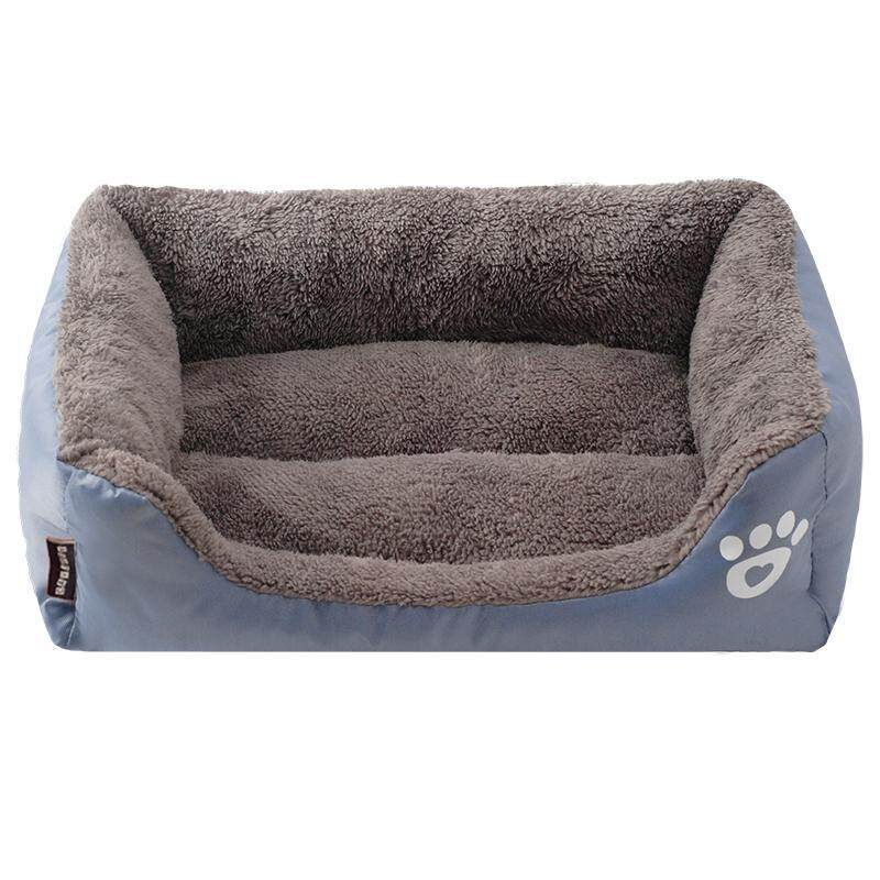 58*45*14cm Candy Color Fresh Pet Nest Dog Houses Cat Mats Pet Beds Supply Grey