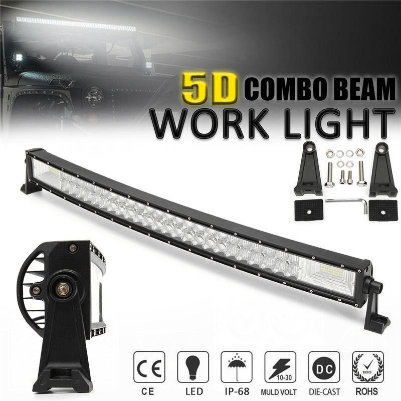 5D 32 Inci 1070 W LED Batang Lampu Kerja Titik Banjir Combo Lampu Offroad Mobil Truk-Internasional