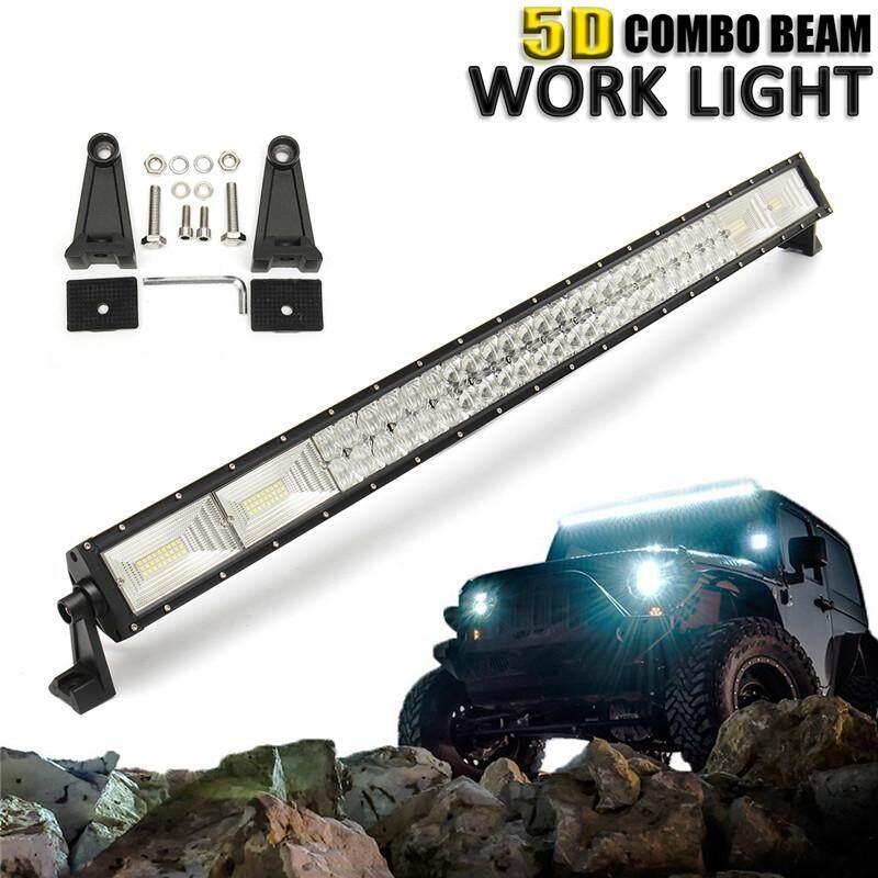 5D 42 Inci 1400 W LED Batang Lampu Kerja Titik Banjir Combo Lampu Offroad Mobil Truk-Internasional