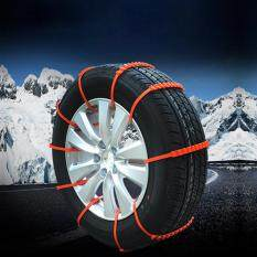 5pcs Winter Anti-Skid Chains For Car Snow Mud Wheel Tyre Thickened Tire Tendon By Joomia.