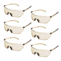6 Pcs Kids Children Outdoor Game Protective Goggles Safety Glasses Eyewear For Nerf N-Strike Elite Shooting Game Eye Protection By Elek.