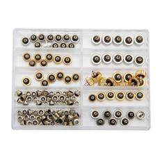 60 Pcs Watch Crown For R o l e x Generic 5.3 6.0 7.0 with Tube and Gasket Copper Malaysia