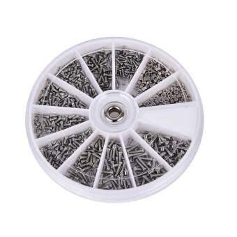 600 ชิ้นสารพันตัวยึดสกรูสำหรับนาฬิกาแว่นตาซ่อมเครื่องมือช่างซ่อมนาฬิกา - นานาชาติ