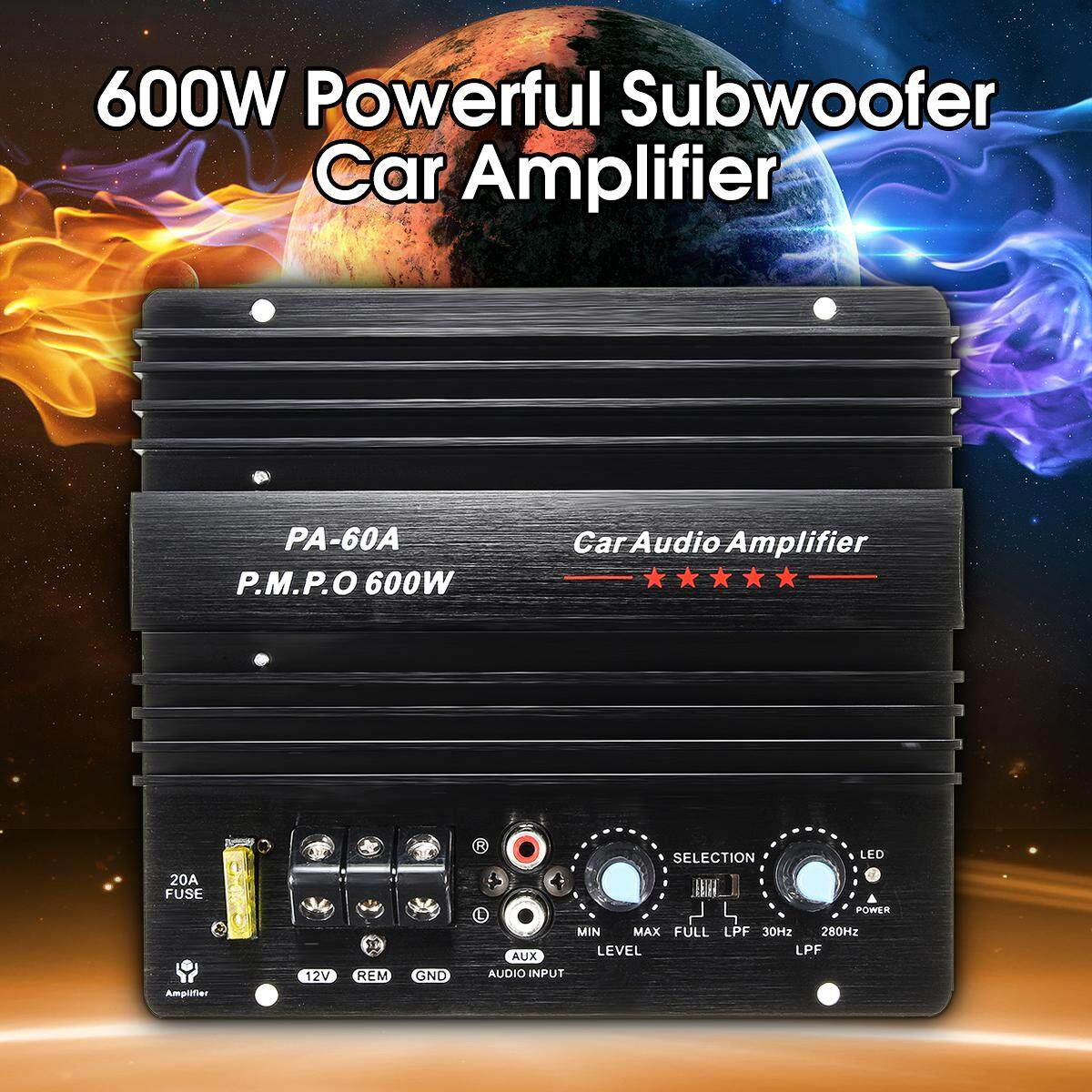 Small Motorcycle Fuse Box Car Amplifier For Sale Audio Online Brands Prices 600w High Power Momo Board Home Subwoofer Super Bass Amp 12v