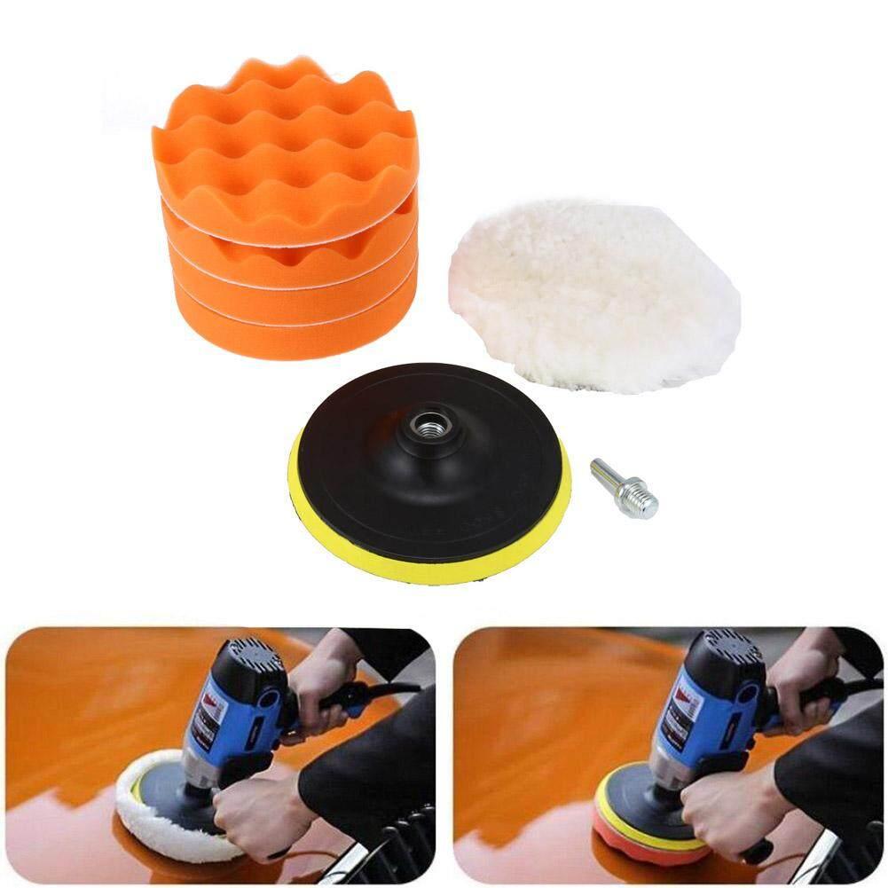 Giá ưu đãi 7 Inch Polishing Pad Set Woolen Sponge Buffing Pads Auto Car Beauty Polisher