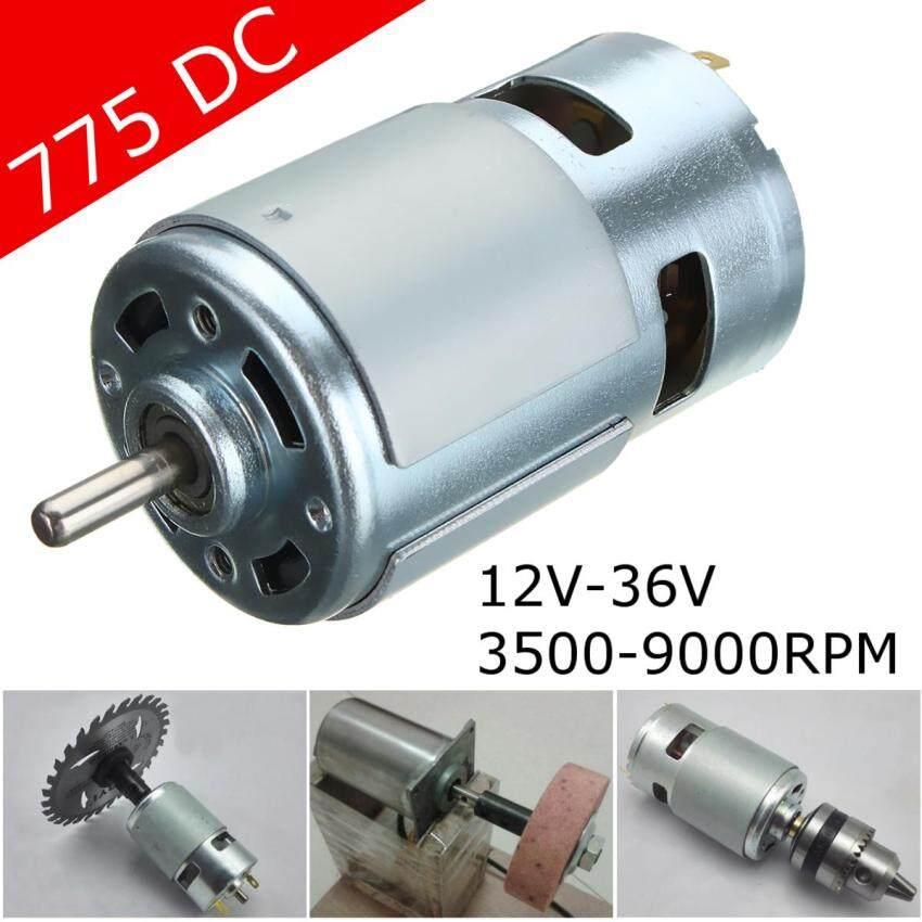775 DC 12V-24V 3500-9000RPM Motor Ball Bearing Large Torque High Power Low Noise