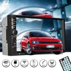 7inch Hd Bluetooth Toque Pantalla Coche Gps Stereo Radio 2 Din Fm/mp5/mp3/usb/aux By Qiaosha.