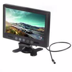 Broz 9 Tft/led Hi-Res Display Monitor With Touch Button 2 Video Input By Broz Car Accessories.