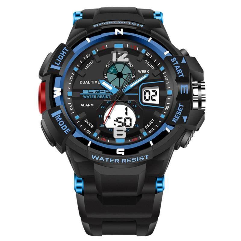 KACOO SANDA Kids Child Boy Girl Multifunction BEST Gifts HIGH Quality LED Wateproof Digital Watch Sport Wrist Watch 5 Color Malaysia