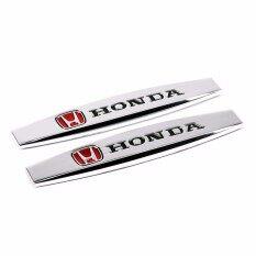 Coupon Ưu Đãi Áo Cặp In Thân Xe Ô Tô Mặt Kim Loại Fender Dán Bên Ngoài Phụ Kiện Tự Động 3D Hợp Kim Huy Hiệu Đề Can Tôn Hiệu Cho Xe Honda Logo CRV Crosstour H-RV Odyssey