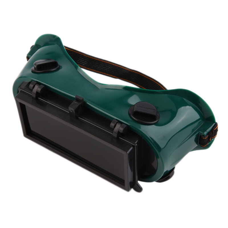Allwin Cutting Grinding Welding Goggles With Flip Up Glasses Welder Protect Safety Black & green