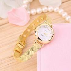 Allwin Fashion Womens Ladies Slim Band Round Quartz Analog Fashion Dress Wrist Watch Malaysia