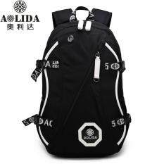 Aolida Waterproof Oxford 15.6-Inch Laptop Backpack Large Capacity Business Backpack Multi-Functional Travel Bag Fashion School Bag For Teenagers By Lan.store.