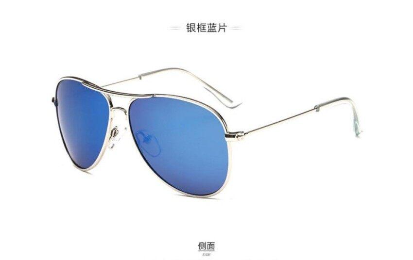 3157 Fashion Wanita Kacamata Hitam Desainer Merek Terpolarisasi Logam UV400 Hitam Bingkai Putih Kaki Abu-Abu Lensa For PerempuanIDR90000. Rp 90.000