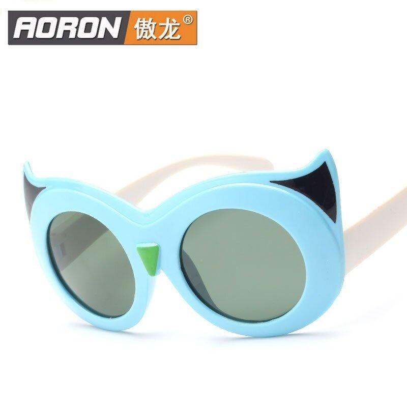 Giá bán Aoron Children Cool Children Classic Fashion Sunglasses Polarized Sunglasses Sunglasses Glasses Boy Girl 5037 - intl