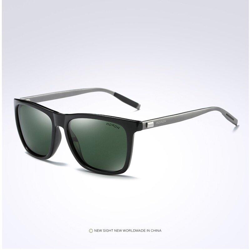 14381e1ea6 AORON Men Polarized Sunglasses Luxury Aluminum Magnesium Glasses Male UV400  Eyewear Mirror Coating Sun Glass HD