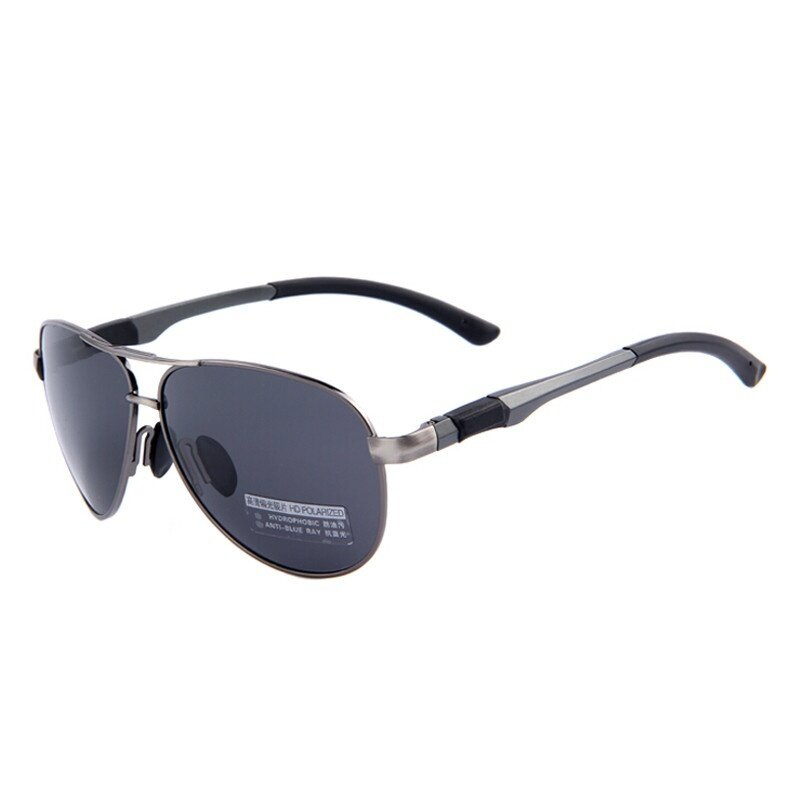 c9fb774e425 AORON Polarized Aviator Sunglasses Male UV400 Driving HD Goggle Original  Box Pilot Sun Glass Luxury Eyewear