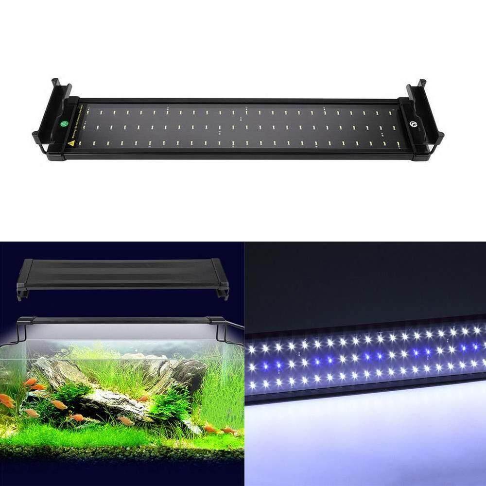 Compare Aquarium Led Lighting Fish Tank Waterproof Light Lamp Extendable Brackets Intl Prices