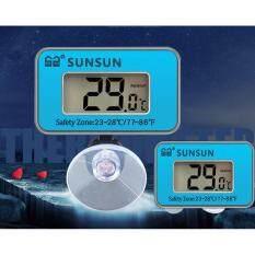 Aquarium Sunsun Submersible Digital Lcd Aquarium Thermometer For Fish Tank Water By Florasun.