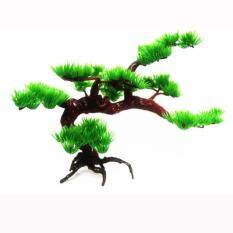 Aquatic Animals Rockery Miniascape Aquarium Artificial Pine Trees Water Plants