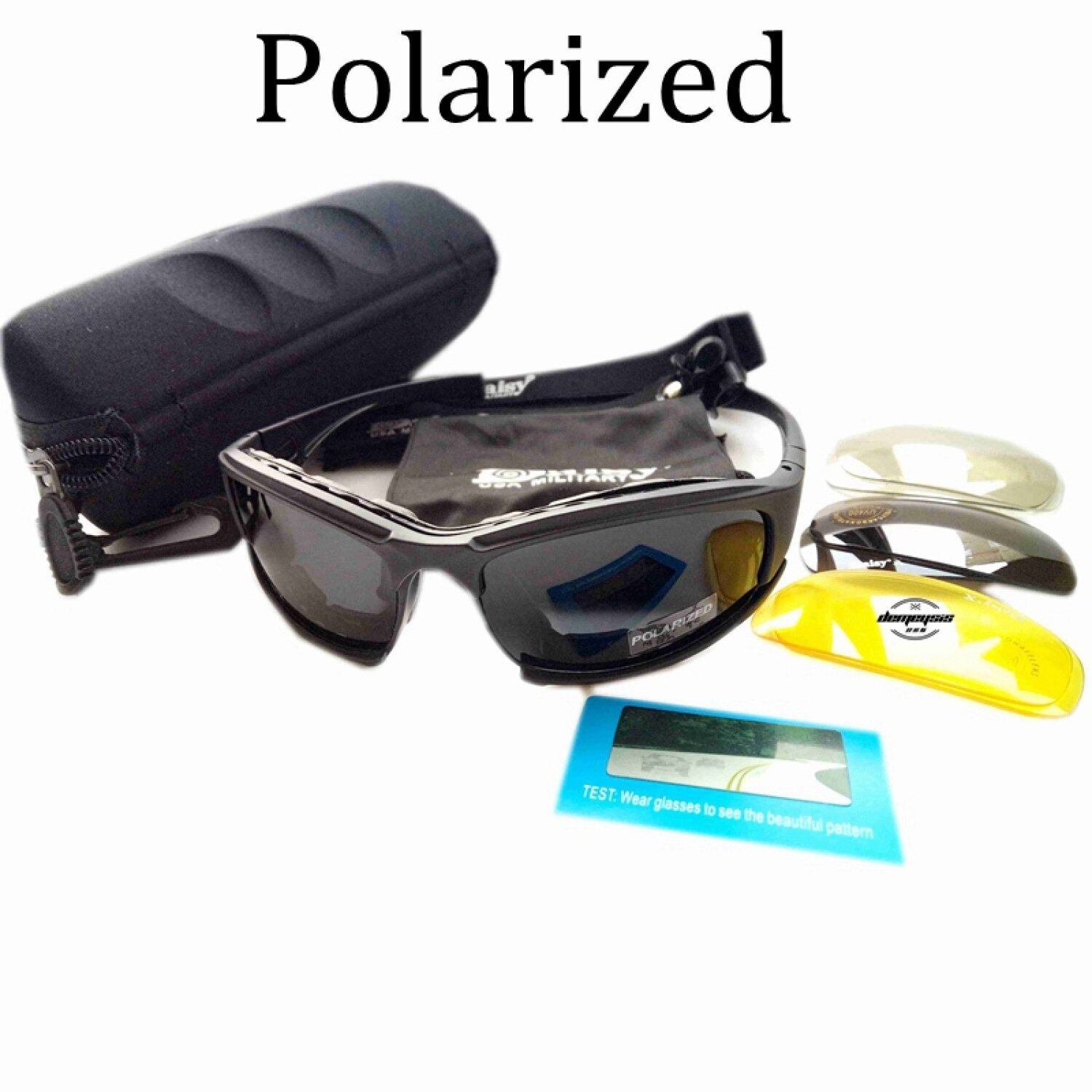 2a232915a45 Army Goggles Sunglasses Men Military DAISY X7 Sun glasses Male 4 Lens Kit For  Men s War
