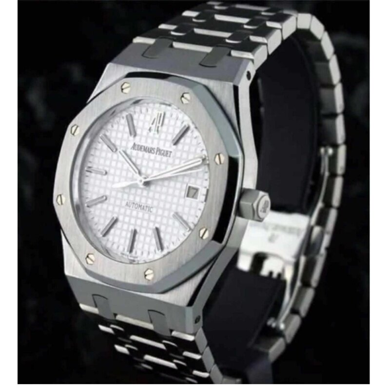 Audemars Piguet Steel Fancy Chonograph Automatic Watch Malaysia