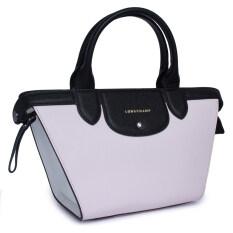 Mai Bag Authentic Porté Blackwhite Longchamp Sac awwFqZ4