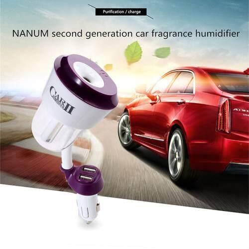 Otomatis Mobil Diffuser Humidifier Udara Purifier Penyejuk Ultrasonik Aroma Diffuser Kabut Maker Fogger Portabel Mini Mobil