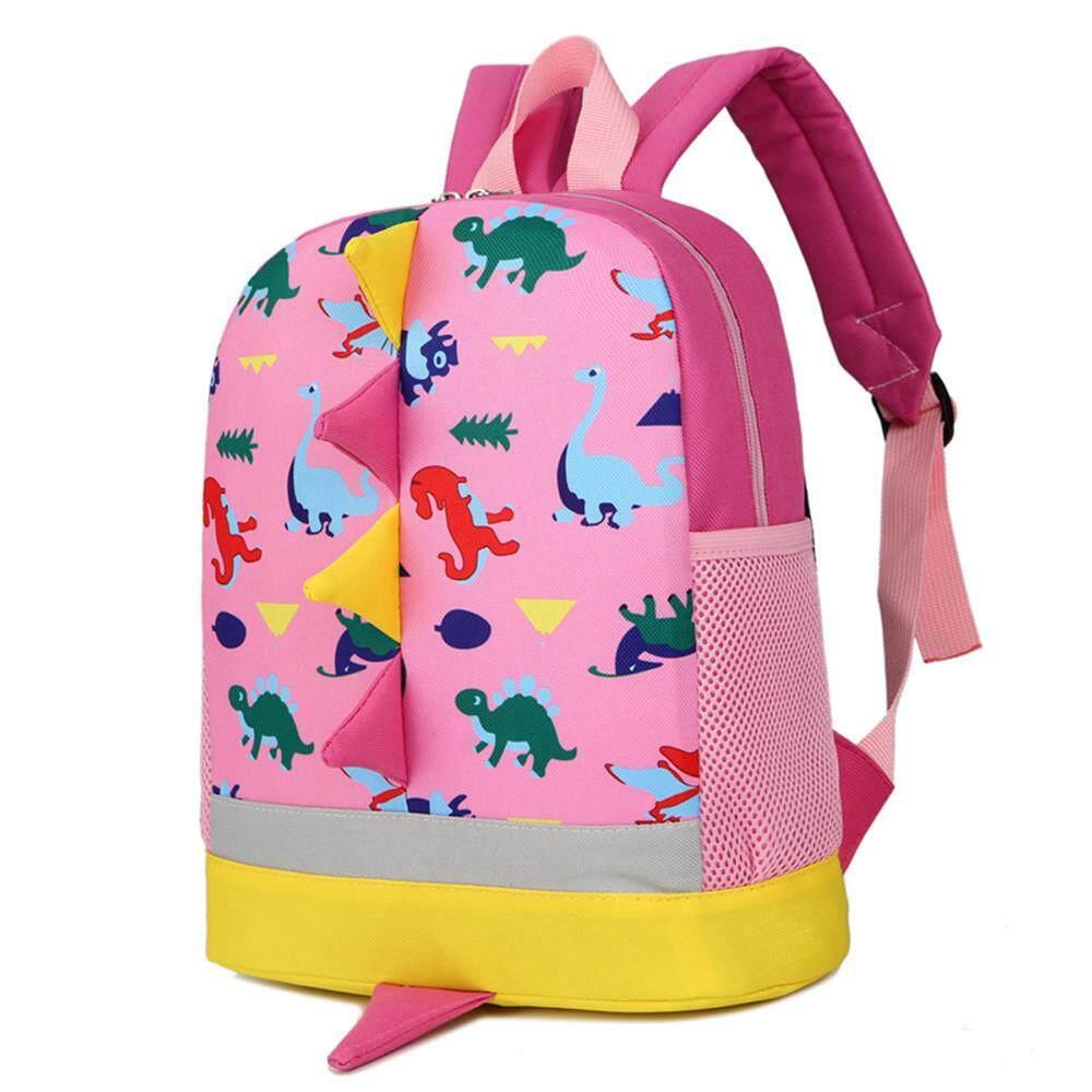 Baby Boys Girls Kids Dinosaur Pattern Animals Backpack Toddler School Bag -  intl 5e67be2efa3f3
