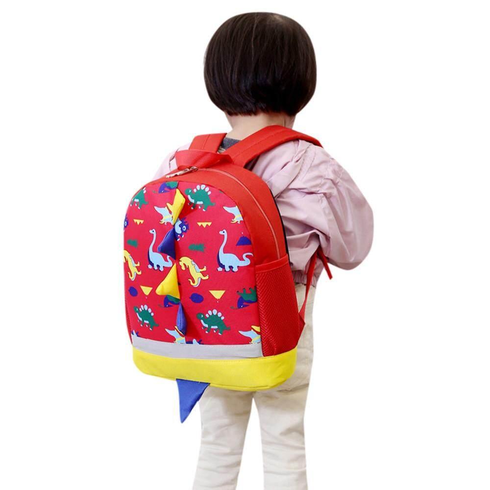 fe6792acce Baby Boys Girls Kids Dinosaur Pattern Animals Backpack Toddler School Bag -  intl