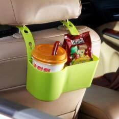 Kursi Belakang Mobil Plastik Cangkir Penyimpanan Pemegang Dan Rak Untuk