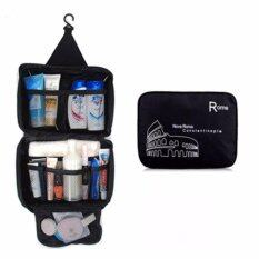 Bag.society - Multifunction Waterproof Hanging Travel Toiletries And Cosmetics Storage Organiser Bag (black) By Bag.society.