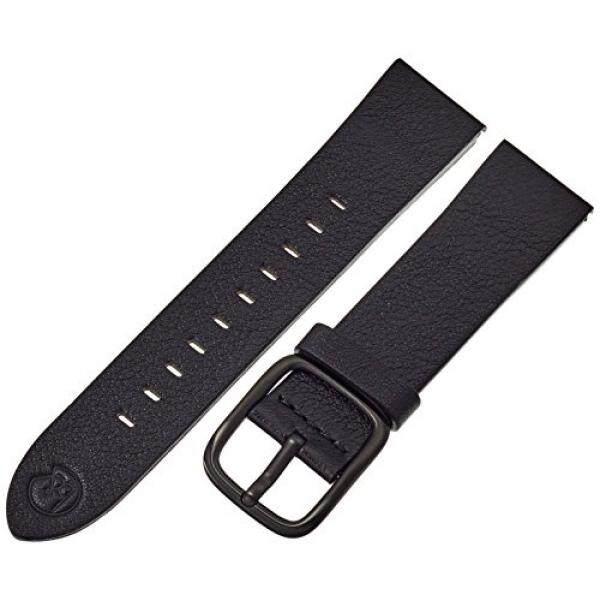 6b2a863b36d b nd by Hadley Roma Unisex BND200RA 220 Mode Leather 22mm Calfskin Black Watch  Strap - intl