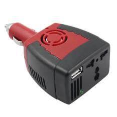 Beau 150 W Mobil Pengalih Daya Adaptor Charger USB Power Supply 12 V DC Papan 220 V AC Merah-Intl