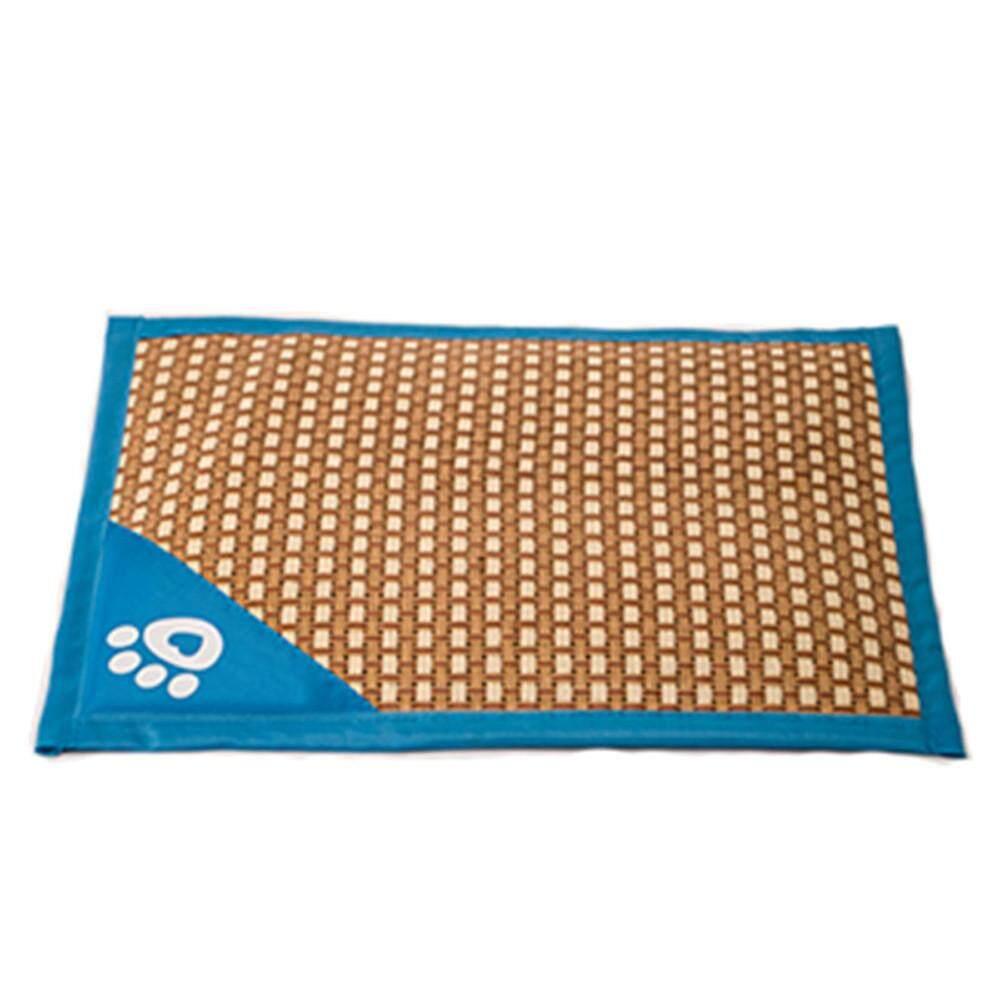 Sale Beautiful Comfortable Thin Stripes Design Antislip Summer Cooling Pet Mat Marionshop Intl On China
