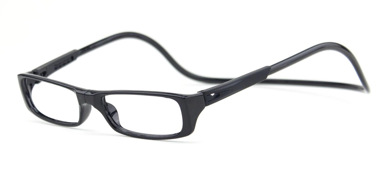 TIANYOU JD Bi-color Folding Magnetic Reading Glasses +3.0 (black)